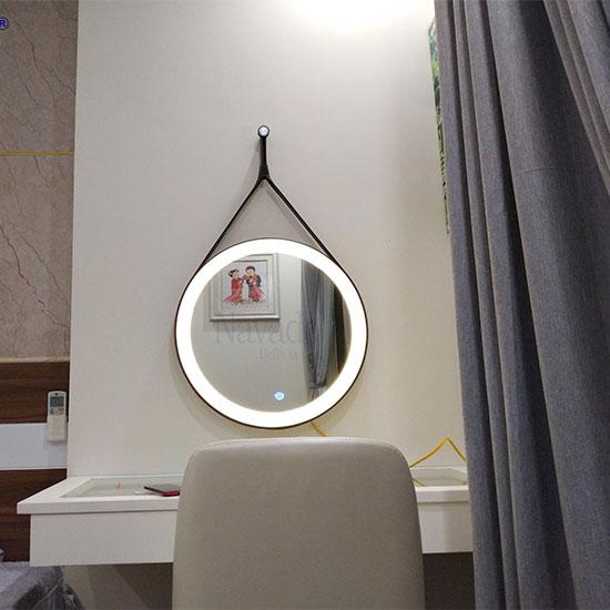Gương dây da đèn led cảm ứng Navado No13924