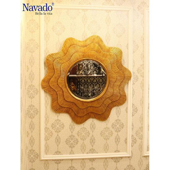 Gương treo tường tân cổ điển Navado NO14074