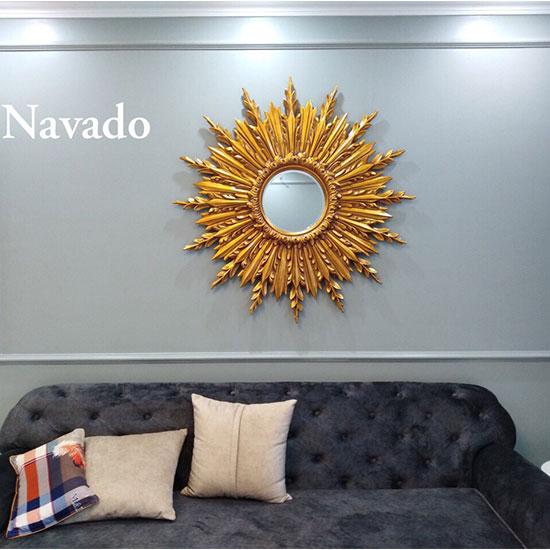 Gương phòng khách tân cổ điển Navado NO15251