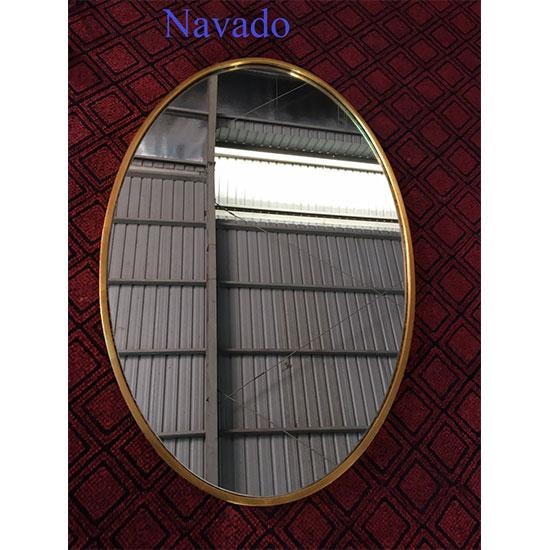 Gương Elip viền vàng Navado NO15442