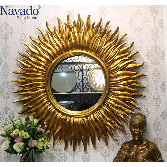 Gương phòng khách tân cổ điển Navado NO15456