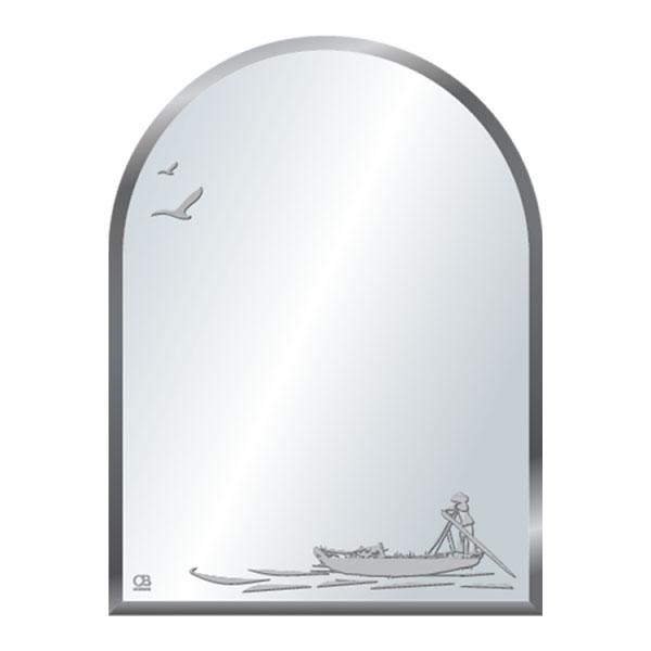 Gương phôi mỹ QB Q516 45x60