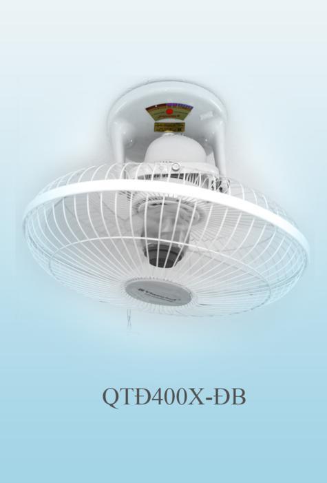 Quạt quay treo trần QTĐ 400X-Đ (điều khiển từ xa)