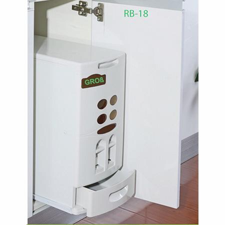 Thùng gạo âm tủ Grob RB-18-1