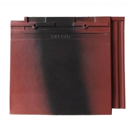 Ngói kiểu Pháp Secoin S2 01 Red Black