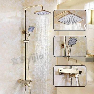Sen cây tắm nhiệt độ mạ vàng SOCHI 821