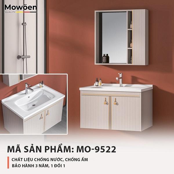 Bộ tủ chậu cao cấp Mowoen T-9522