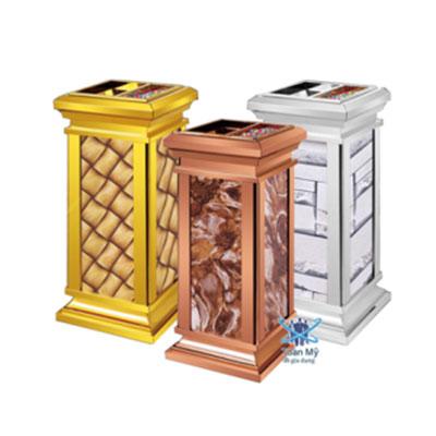 Thùng rác inox SafeVN TM 038