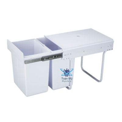 Thùng rác inox ray kéo SafeVN TM 041
