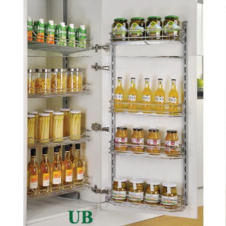 Tủ kho 4 tầng cánh mở inox nan Grob UB-460S