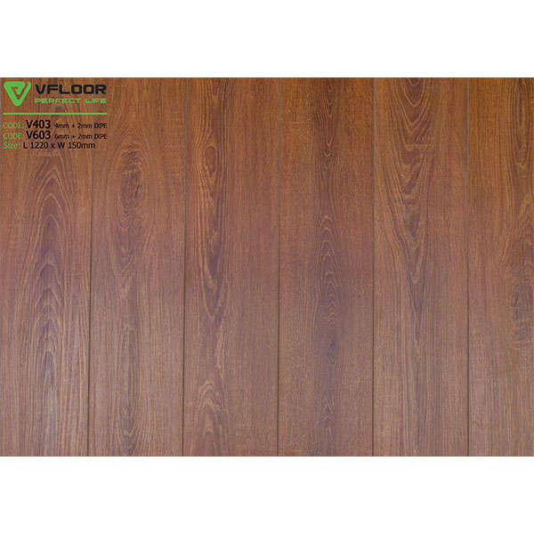 Sàn nhựa vân gỗ SPC Vfloor V403 (4mm)