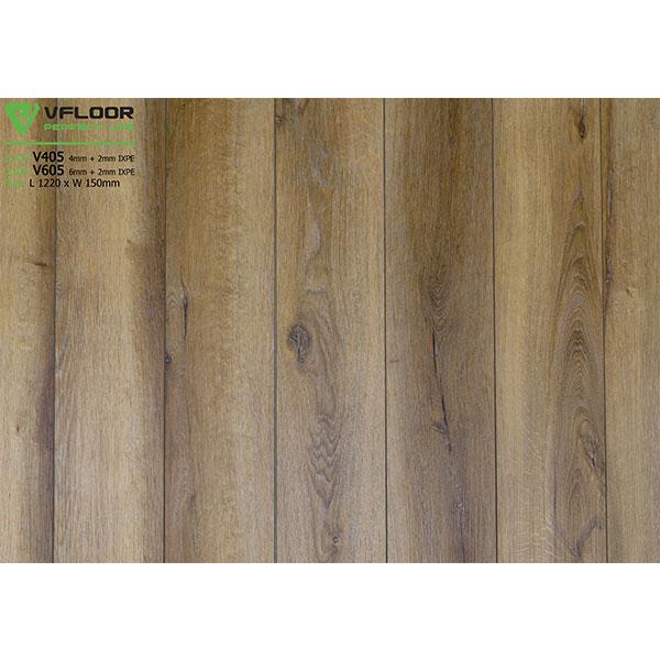 Sàn nhựa vân gỗ SPC Vfloor V405 (4mm)