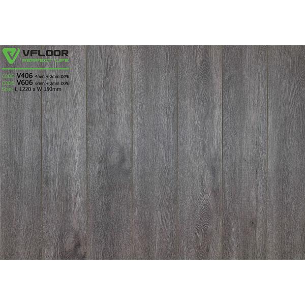 Sàn nhựa vân gỗ SPC Vfloor V406 (4mm)