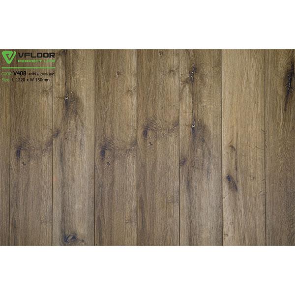 Sàn nhựa vân gỗ SPC Vfloor V408 (4mm)