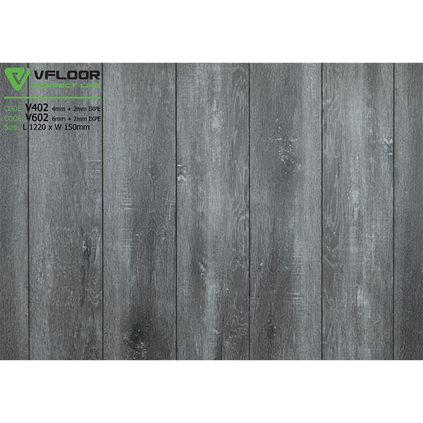Sàn nhựa vân gỗ SPC Vfloor V602 (6mm)