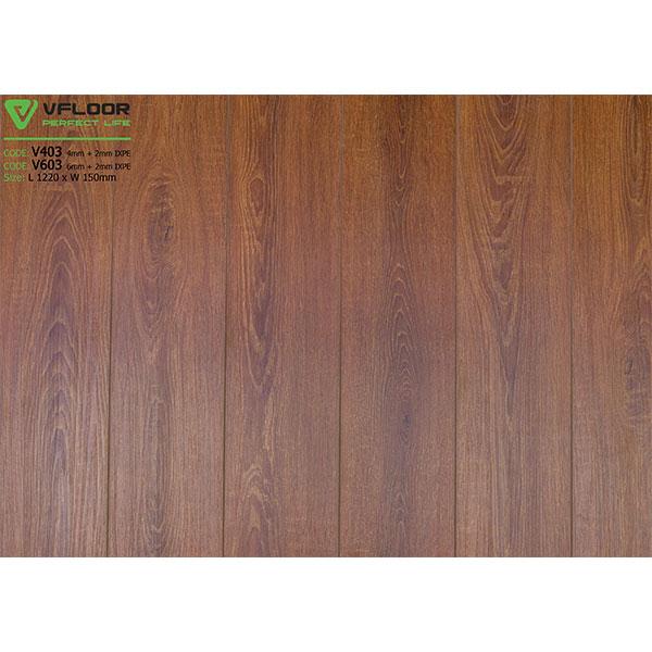 Sàn nhựa vân gỗ SPC Vfloor V603 (6mm)