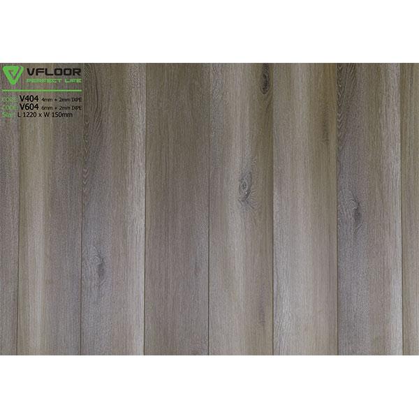 Sàn nhựa vân gỗ SPC Vfloor V604 (6mm)
