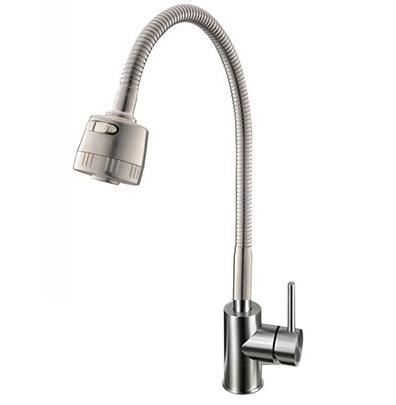 Vòi rửa bát nóng lạnh cần mềm Yadanli VI304M
