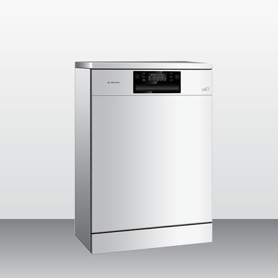 Máy rửa bát Malloca WQP12-J7223A E5