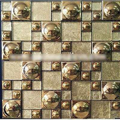 Gạch ốp trang trí phòng karaoke Mosaic X-6045-1