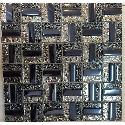 Gạch ốp trang trí phòng karaoke Mosaic X-9473