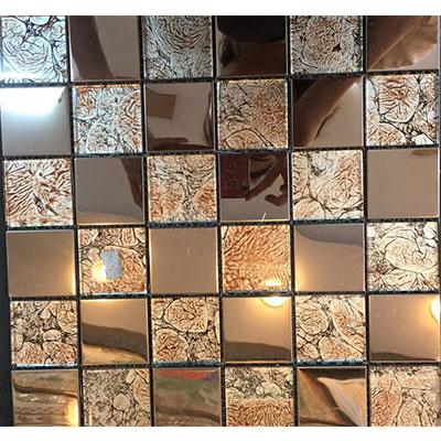Gạch ốp trang trí phòng karaoke Mosaic AHT3505
