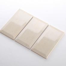 Gạch thẻ ốp tường màu trắng mờ phẳng 100x300mm M1300Y