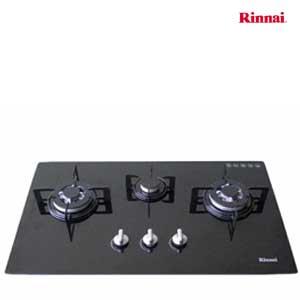 Bếp gas âm Rinnai 3 bếp RVB-312BG