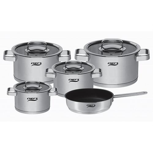 Bộ nồi 5 món Chefs EH-CW6304
