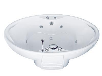 Bồn tắm tròn massage Caesar MT3280