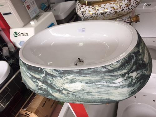 Chậu rửa lavabo nghệ thuật Safe 3035