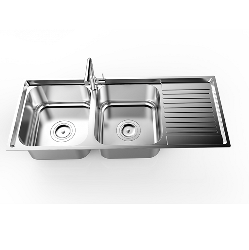 Chậu rửa bát Sơn Hà Premium S105D2.3