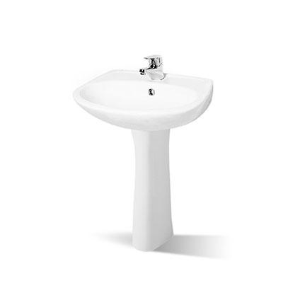 Chậu lavabo chân dài Nahm SVW2100505XN01 SVH2100S300N01