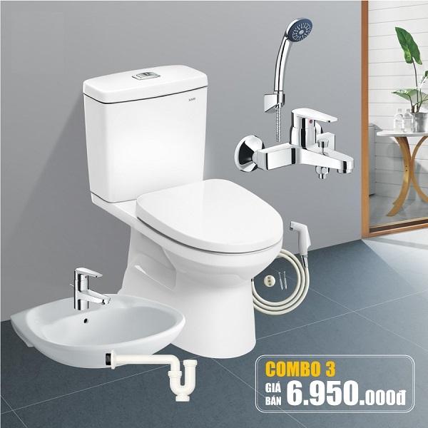 Thiết bị vệ sinh Inax giá rẻ C504-3