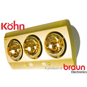 Đèn sưởi nhà tắm Braun KN03G