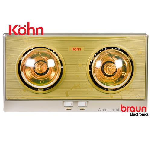 Đèn sưởi nhà tắm Braun KN02G