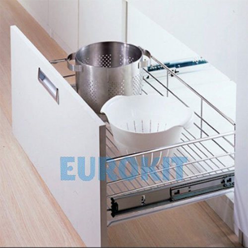 Giá xoong nồi inox nan tròn Eurokit EN 600