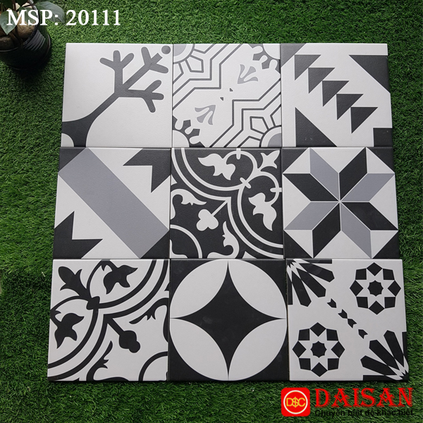 Gạch bông men vuông 200x200 20111