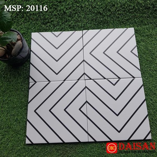 Gạch bông men vuông 200x200 20116