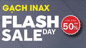Gạch inax Flash Sale: Giảm giá 50% gạch kiến trúc