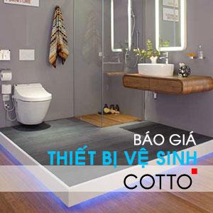 Giá thiết bị vệ sinh Cotto