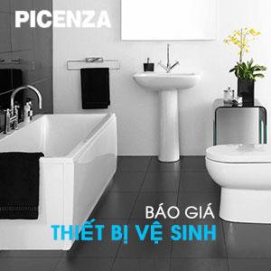 Giá thiết bị vệ sinh Picenza