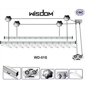 Giàn phơi thông minh Wisdom WD-01S