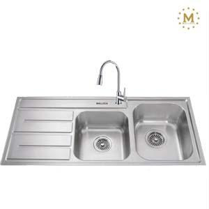 Chậu rửa bát Malloca MS 1027R(L)