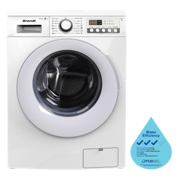 Máy giặt lồng ngang Brandt BWF714AG
