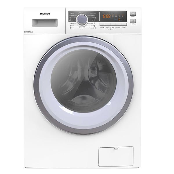 Máy giặt sấy lồng ngang Brandt BWD8614AG