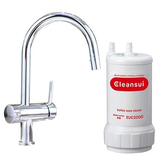 Thiết bị lọc nước dưới bồn rửa Cleansui EU201