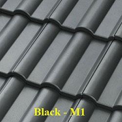 Ngói màu Fuji Black M1