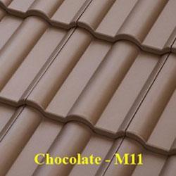 Ngói màu Fuji Chocolate M11