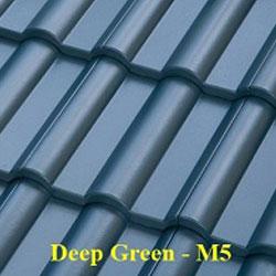 Ngói màu Fuji Deep Green M5